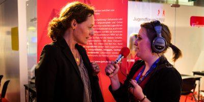 Carolin Krause auf dem Jugendforum NRW
